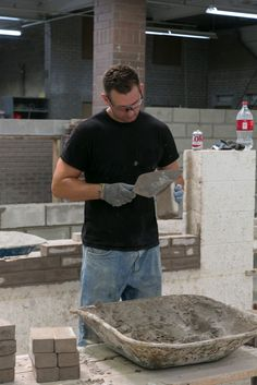 A third-generation bricklayer, apprentice Sean Scola is grand-nephew of the Scola Training Center's namesake, John Scola. Sean's uncle, Stephen Scola, is also a Life Member of Local 1 NY.