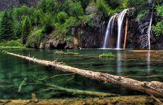 Another beautiful photograph of Hanging Lake! #VisitGlenwood http://www.visitglenwood.com/