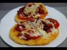 Specjał z patelni #PIZZA Zrób na #śniadanie zamiast nudnych #kanapek Jak zrobić smażoną pizzę - YouTube Chorizo, Baked Potato, Pizza, Potatoes, Baking, Ethnic Recipes, Youtube, Food, Potato