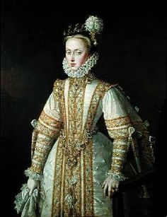 Sánchez-Coello Alonso - Anne of Austria (1549-80) Queen of Spain