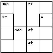Favorite math puzzles for kids- this site has a whole list of brainteasers and links to math puzzles!