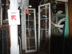 Finding doors at salvage shop. Doors, House, Shopping, Slab Doors, Haus, Homes, Doorway, Gate
