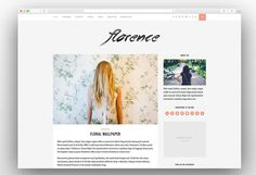 florence-creative-wordpress-blog-theme