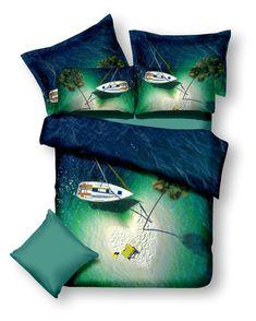 Modrá laguna ložní povlečení v zeleno modré barvě Christmas Stockings, Holiday Decor, Home Decor, Colors, Homemade Home Decor, Decoration Home, Interior Decorating