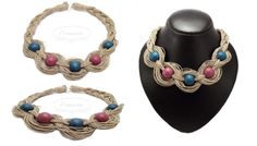 Linen & wood Wood, Jewelry, Fashion, Moda, Jewlery, Woodwind Instrument, Jewerly, Fashion Styles, Timber Wood