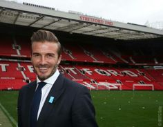 """David Beckham: """"I'm excited to be back at Old Trafford. Any time I can, I love coming back here – it still gives me goosebumps. After retiring, I didn't think I would be putting my boots on again!  """"To be able to host a game here for a great cause is very special. It is something I'm very proud of. I have to say a big thank-you to Manchester United for their support, because games here are special and sacred."""""""