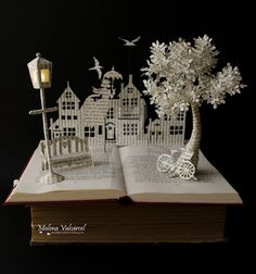 Mary Poppins Book Sculpture by MalenaValcarcel.deviantart.com on @DeviantArt