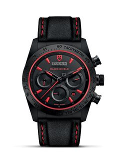 Discover the Black Shield, a sporty chronograph watch made of monobloc high-tech ceramic inspired by the Ducati Diavel, on the Official Tudor Website Tudor Heritage Black Bay, Tudor Black, Mens Watches For Sale, Luxury Watches For Men, Swiss Watches For Men, Authentic Watches, Fine Watches, Red Watches, Watch Companies