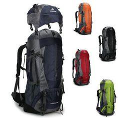 67c5840d58c9 Men women Large Couple models outdoor Sport 70L Travel Hiking Camping  backpack Outdoor Backpacks