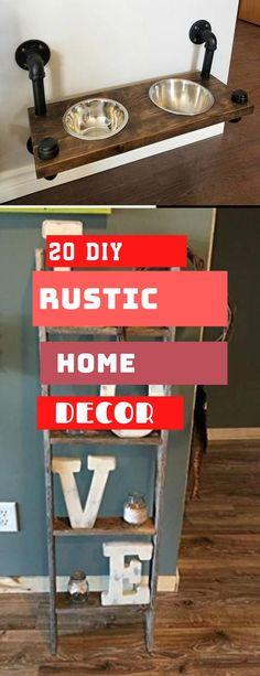 Brilliant Rustic Home Design #rustichomedecor #diy Diy Rustic Decor, Rustic Home Design, Rustic Theme, Diy Home Decor, House Design, Decoration, Simple, Pretty, Top