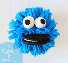 Video tutorial cupcakes monstruo de las galletas