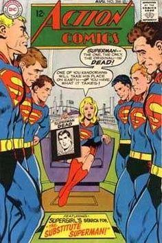 Action Comics #366 - Substitute Superman