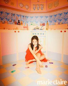 Blackpink Jennie, Marie Claire, South Korean Girls, Korean Girl Groups, Divas, Jenny Kim, Rapper, Black Pink, Bazaars