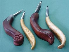 Native North American carving knives