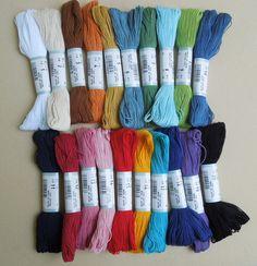 sashiko thread | The French Needle | French Needlework Kits, Cross Stitch, Embroidery, Sophie Digard