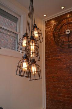 Modern Pendant Light Restaurant Light by WestNinthVintage
