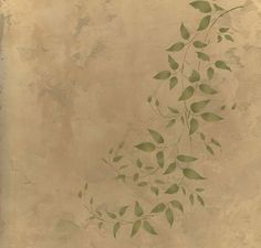 Try stencils instead of expensive wallpaper or decals! Cutting Edge Stencils offers the best stencils for DIY decor - stencils designed by professional decorative painters Janna Makaeva and Greg Swisher. We stand behind our product and are proud to have 100% positive feedback :)  Beautiful wall stencils, 3pc kit various Clematis vines. Perfect for modern wall decor. If you love the look of trendy vinyl wall decals but dislike the idea of putting stickers on your walls, these silhouette wall…