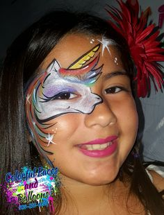 Quick Rainbow Unicorn  #Colorfulfacesandballoons, #facepainter, #balloontwister, #holidayfacepainter, #4thofjulyfacepainter, #facepaintinginriversidecounty, #facepaintingininlandempire, #balloontwisterinriversidecounty, #balloontwisterininlandempire. www.Colorfulfacesandballoons.com (909)-855-6624 Balloon Painting, Rainbow Unicorn, Balloons, Faces, Colorful, Projects, Log Projects, Globes, Blue Prints