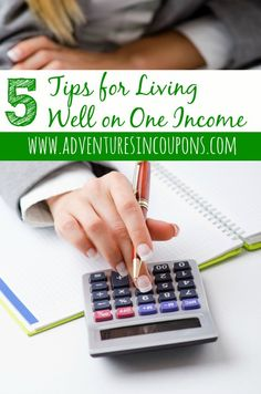 We live on one income and for the most part, we do it comfortably! In this post, I give you my 5 essential tips for living well on one income!