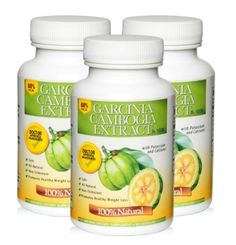Pure Garcinia Cambogia Extract, 60% HCA, 1500mg Per Serving, 270 Veg-Capsules, 3 Pack, 3 Month's Supply $39.95