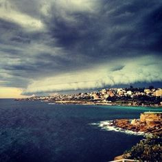 The eastern suburbs looked very moody. | 19 Epic Pictures Of The Monster Thunderstorm That Shook Sydney