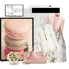 """""""pretty in pink"""" by lanisia1 on Polyvore"""