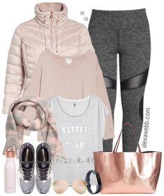 Plus Size Winter Workout Wear - Plus Size Activewear - Plus Size Fashion for Women - alexawebb.com #alexawebb #plussize