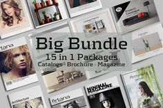 Big Bundle  15 in 1 Packages by Firtana on @creativemarket
