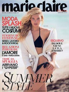 Elsa Hosk, Fashion Magazine Cover, Fashion Cover, Magazine Covers, Naomi Campbell, Marie Claire, O The Oprah Magazine, Yves Saint Laurent, Dior