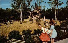 The Dwarf Village in the Busch Gardens Tampa Florida - my favorite!!!