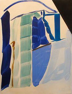 PATRICIA TREIB Simultaneous Icon 2012 oil on canvas 66 x 50 inches