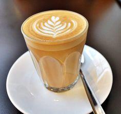 Cafe Latte @ Selfish Gene Cafe, Singapore