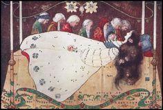 Snow White (Snowdrop) -- Katharine Cameron -- Fairytale Illustration