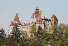 The Bran castle is a national monument and landmark in Romania. Dracula's castle for all tourists from all over the world