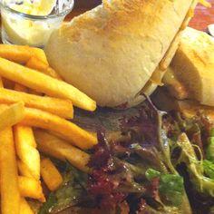 Chicken Sandwich at Munchies, Jakarta.
