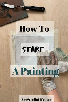 How to Start an oil Painting - and Create an Underpainting - Art Studio Life How To Start Painting, Oil Painting Tips, Oil Painting Techniques, Acrylic Painting For Beginners, Acrylic Painting Lessons, Oil Painting Flowers, Oil Painting Abstract, Learn To Paint, Painting Tutorials