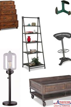 From lighting to storage and accent pieces, we have a huge selection of vintage and rustic pieces for your home!