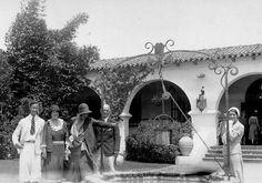 Zelda Fitzgerald (far right) at Villa America, Sara and Gerald Murphy's home.
