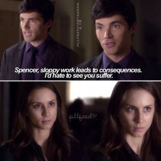 "S4 Ep18 ""Hot For Teacher"" - Spencer and Ezra"