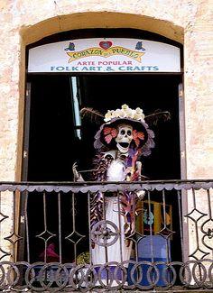 Dia de Los Muertos in Oaxaca would be amazing!!!!