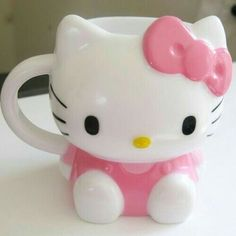 Taza de café de Hello kitty
