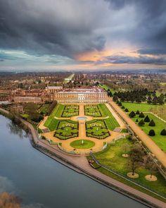 Richmond Upon Thames, Palace London, Hampton Court, London Places, Tudor, Great Places, Golf Courses, Nature, Photos