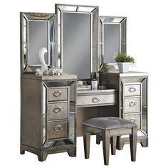 1,227.16 Found it at Wayfair - Lenox Vanity with Mirror