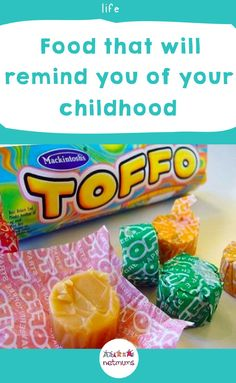 childhood memories Foods that will remind you of your childhood.Take a walk down memory lane and relive your childhood with all the delicious (but not overly healthy!) foods you once ate. Old Sweets, Vintage Sweets, Retro Sweets, Childhood Memories 90s, 1980s Childhood, Sweet Wrappers, Retro Recipes, 80s Kids, Sweet Memories