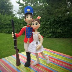 2-in-1  Soldier & Ballerina  The Steadfast Tin Soldier by ToyMagic