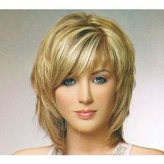 Medium Shag Hairstyles With Bangs | medium shag layered hairstyles with side bangs Women Hairstyles Ideas