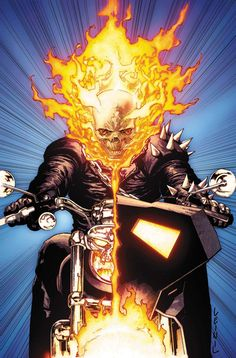Ghost Rider (Blaze & Ketch) art by Leinil Francis Yu