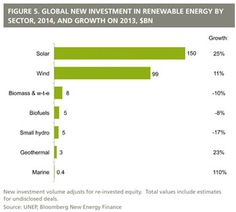Renewable Energy Growth Worldwide 2014 - Milestone Passed: World Adds Over 100 GW of Renewables in 2014
