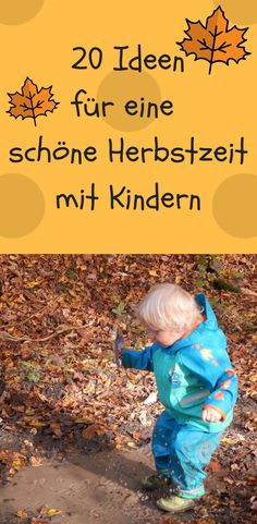 we have 20 ideas how we want to organize our autumn with the children. - we have 20 ideas how we want to organize our autumn with the children. With … we have 20 ideas how we want to organize our autumn with the children. Infant Activities, Kindergarten Activities, Activities For Kids, New Children's Books, Baking With Kids, Kids Corner, Diy Crafts For Kids, Kids And Parenting, Kids Playing