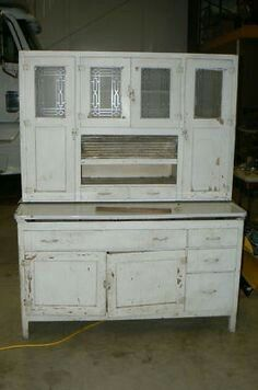 Unusually Wide For A Hoosier Style Cabinet.